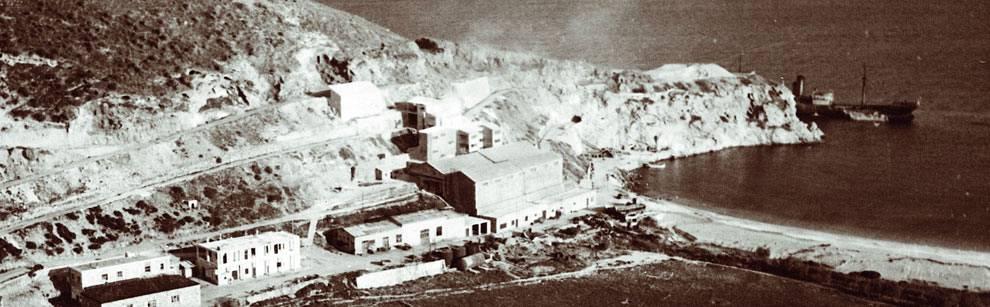 Milos Mining History